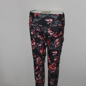 Lululemon High times Pant Paint Strom expresso 10